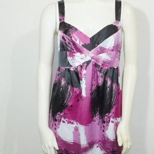 Size 8 Medium The Limited Pink Purple Dress